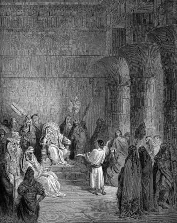 Joseph interpreting the Pharaoh's dream