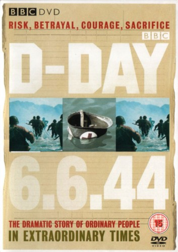 Cover of a BBC book on D-Day