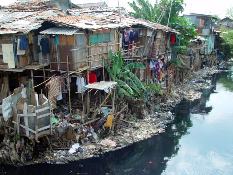 Slums in Jakarta