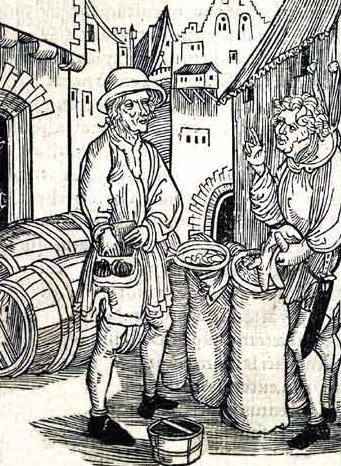 Of Usury, from Brant's Stultifera Navis (the Ship of Fools)