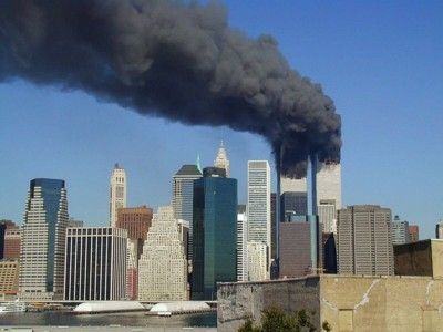 World Trade Center on 11 September 2001
