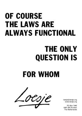 lawsfunctional