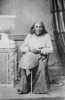 The only known photograph of Chief Seattle