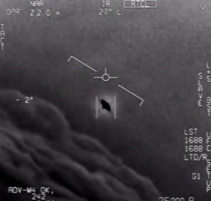 Declassified Pentagon UFO footage